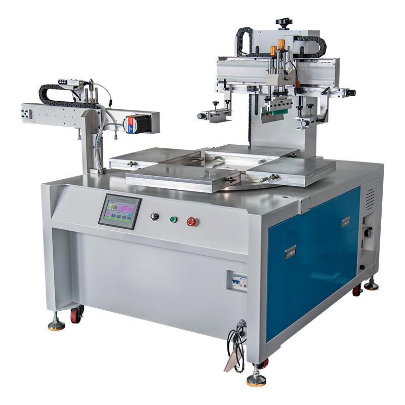 小型絲印機廠家平面網印機自動轉盤絲網印刷機