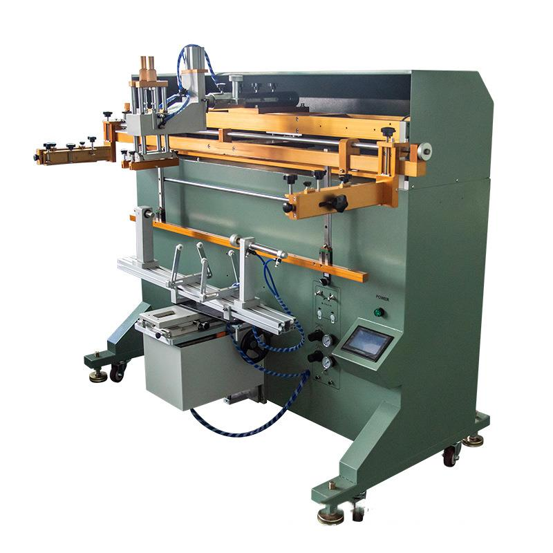 曲面絲印機廠家伺服滾印機自動絲網印刷機