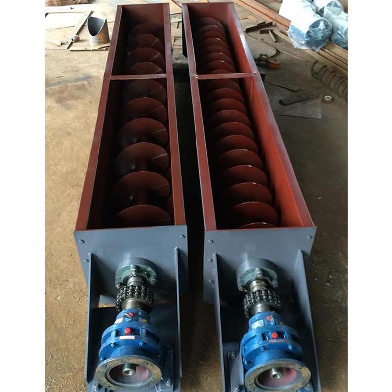 河北滄州加工各型號有軸螺旋輸送機除塵器輸灰配套用