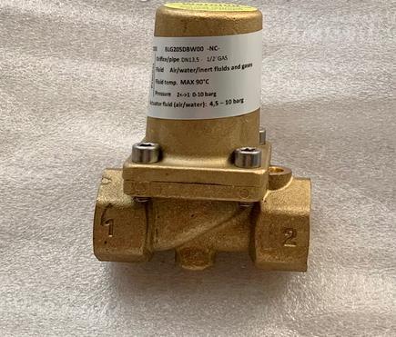 意大利M&M型号BLG205DBW00气动截止阀