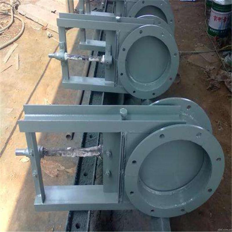 泽成供应手动气动电动等各形式插板阀价格优惠