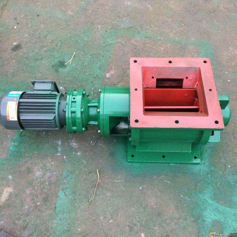 河北實體廠家加工YJD16型卸灰閥300*300方口卸料器