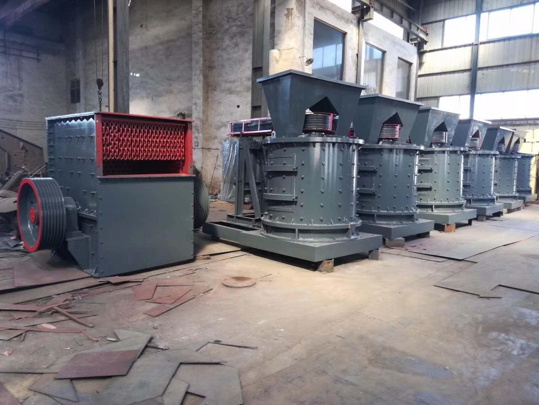 移动式立轴制砂机改变固定制砂方式满足不同用户需求