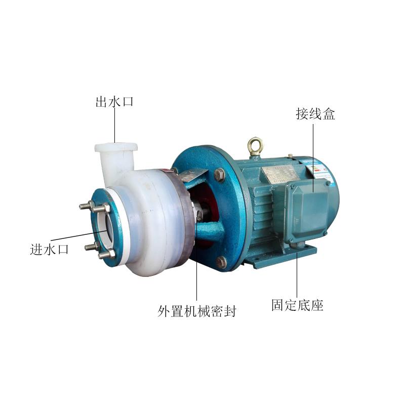FSB氟塑料合金离心泵(FSB-D型)