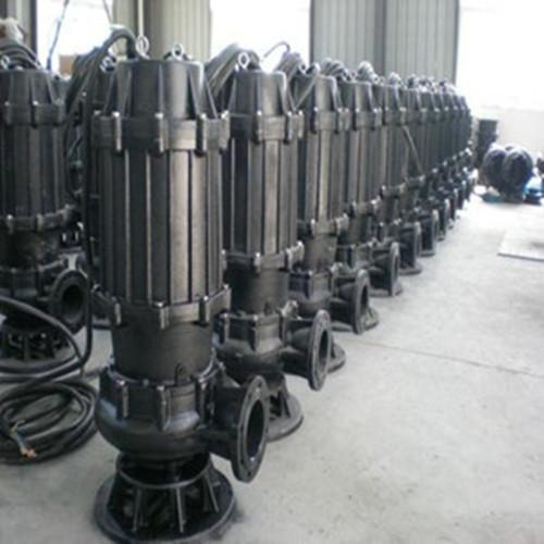 礬泉-WQ(QW)型無堵塞潛水排污泵