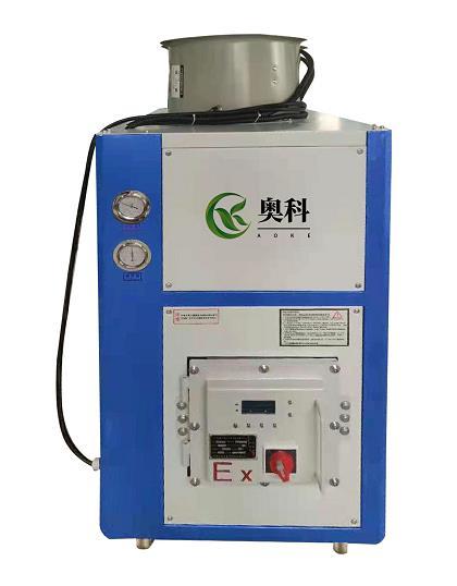 化工行業專用冷凍機風冷式防爆冷水機組