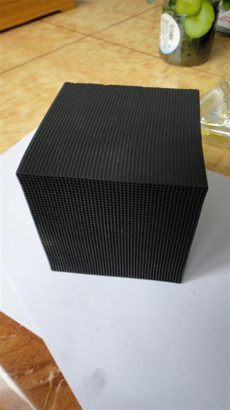 唐山廢氣處理活性炭%蜂窩狀活性炭塊