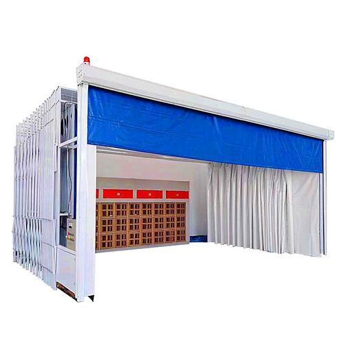 長期供應各種尺寸移動伸縮噴漆房