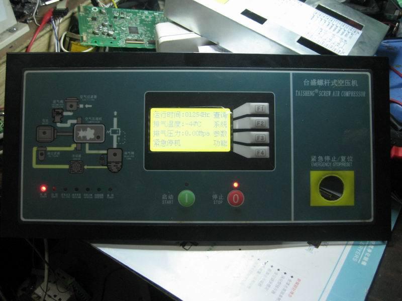 台盛空压机控制器维修,密码破解