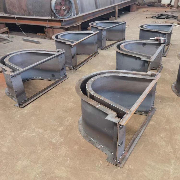 農田U型流水槽模具加工,公路U型流水槽鋼模具定制