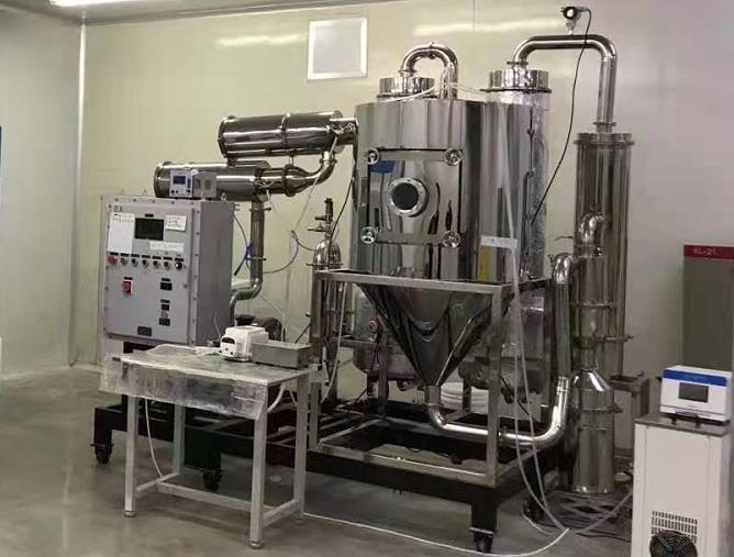 安研氮气闭路循环喷雾干燥机夹套式加热控温精度高大量批发