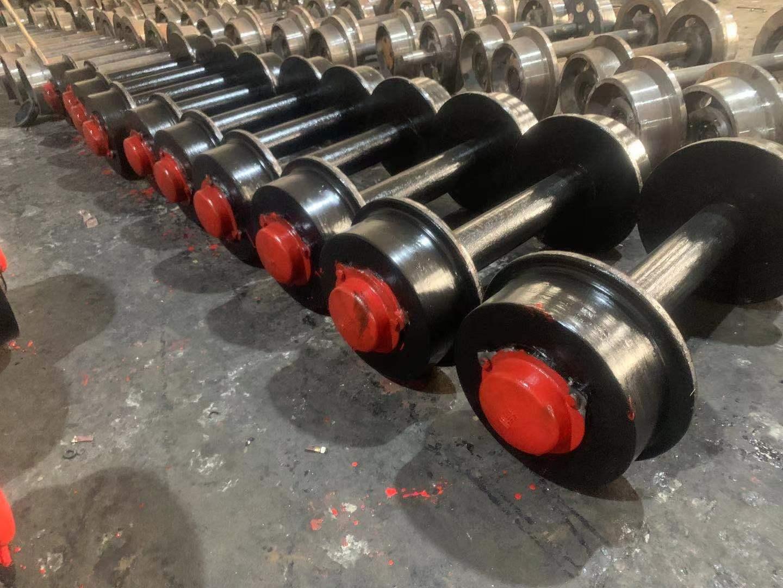 直径300矿车轮1吨矿车轮对恒启轨距矿车轮生产厂家