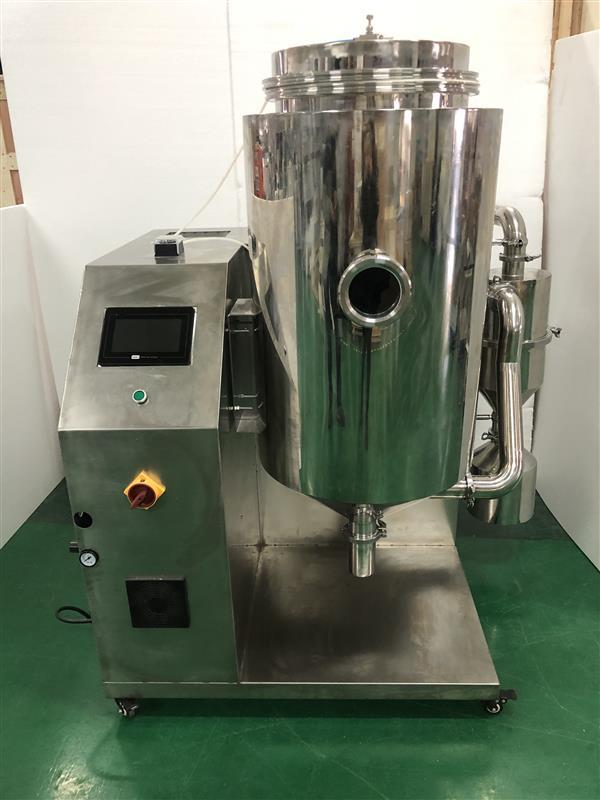 优质服务高温喷雾干燥机高硼硅耐热玻璃制造关机保护