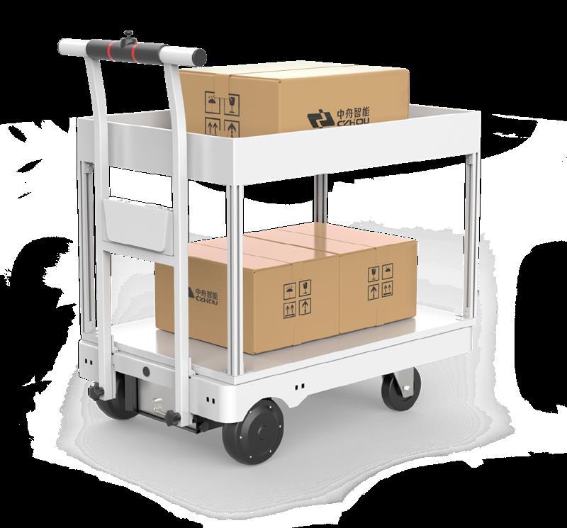 跟隨搬運機器人 深圳中舟機器人品牌 適合長距離、高頻次的零散重物搬運