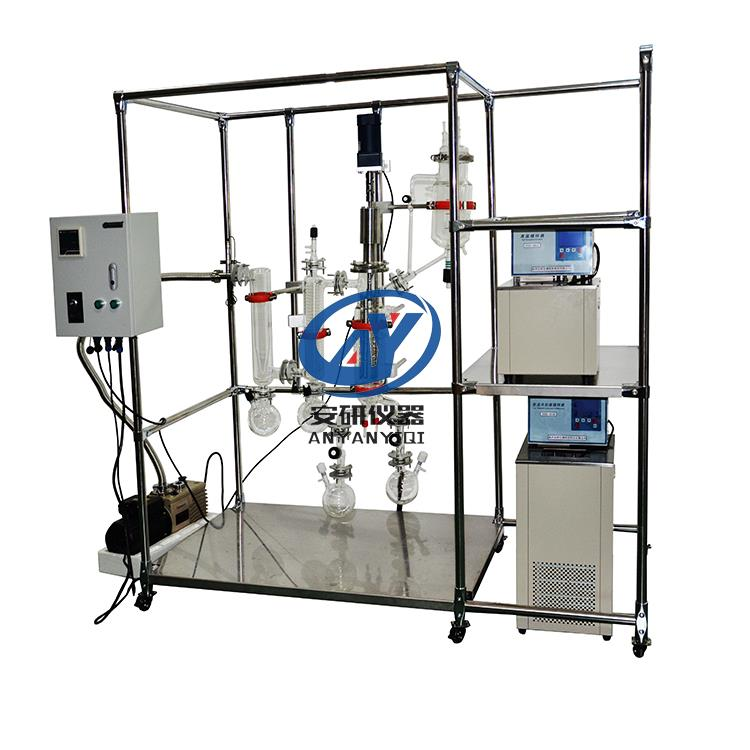 優惠促銷不銹鋼薄膜蒸發器AYAN-B80S可連續蒸餾性價比高