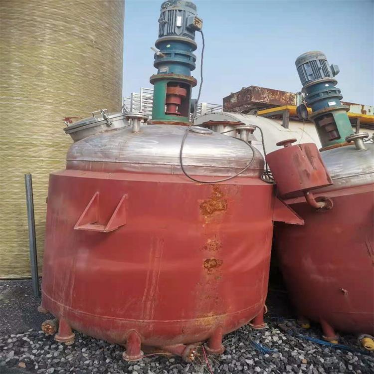 現貨出售二手不銹鋼反應釜廠家可定做全新