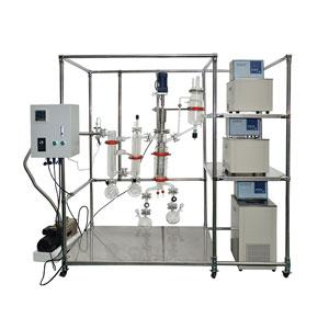 供应厂家玻璃分子蒸馏仪分离程度高蒸馏液膜薄
