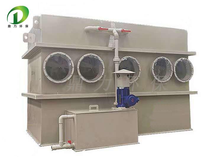 饲料厂废气处理 微生物废气处理塔 生物滴滤塔