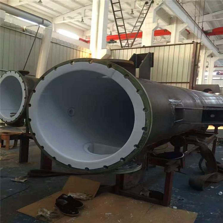 四氟塑料反應塔塔節塔器
